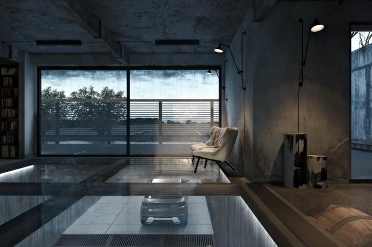 Industriële stijl u een jonge en stedelijke decoratie decor
