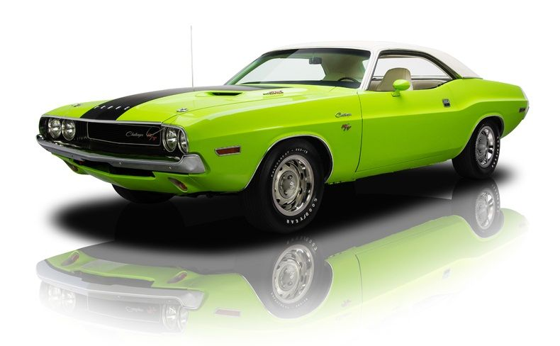 1970 Dodge Challenger Rt Muscle Cars Muscle Cars For Sale