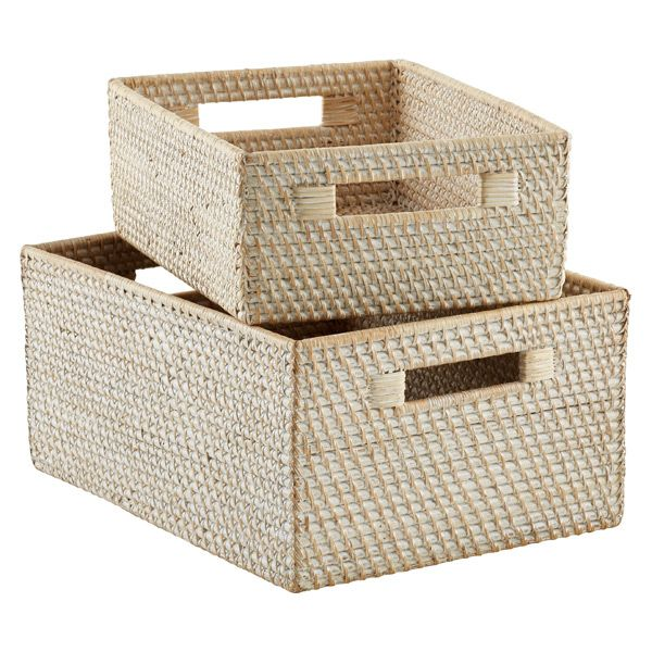 H C Baskets Storage Bins Baskets For Shelves Storage Baskets