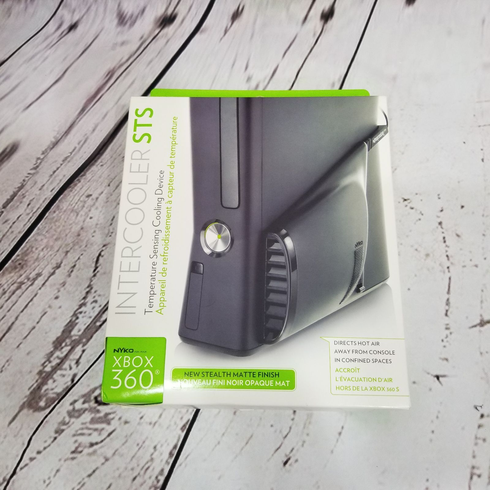 New In Box Xbox 360 Nyko Intercooler Sts Temperature Sensing