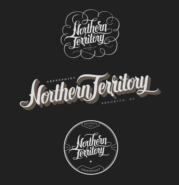 Northern Territory by No Entry Design, via Behance hand lettering handlettering type typography graphic design art
