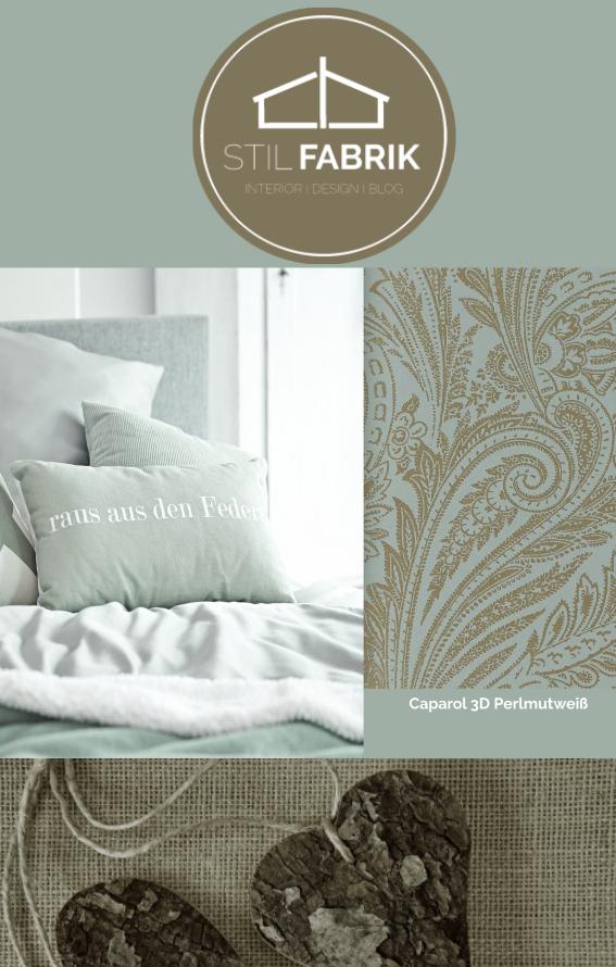 Farb Stilkonzept Rasch Textil Vision 022859 Grün Grau Gold Silber  Ornament Muster Vliestapete Wohnzimmer Schlafzimmer Stil Fabrik  Christoph Baum