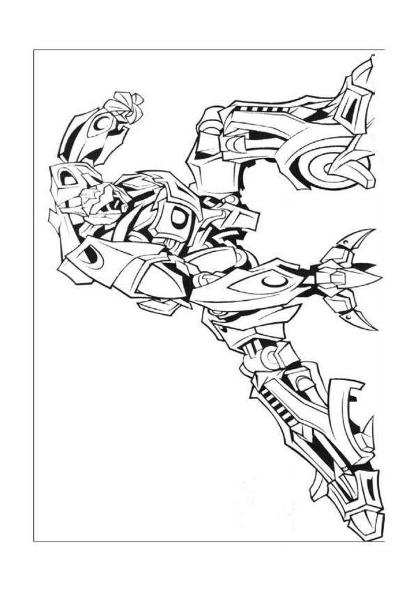 Transformers Ausmalbilder. Malvorlagen Zeichnung druckbare nº 17 ...