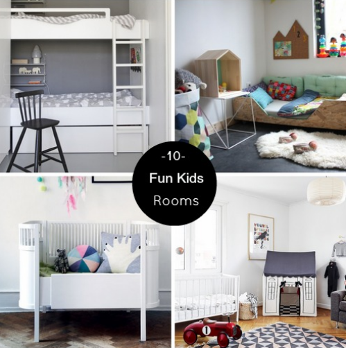 10 Fun #kids #rooms