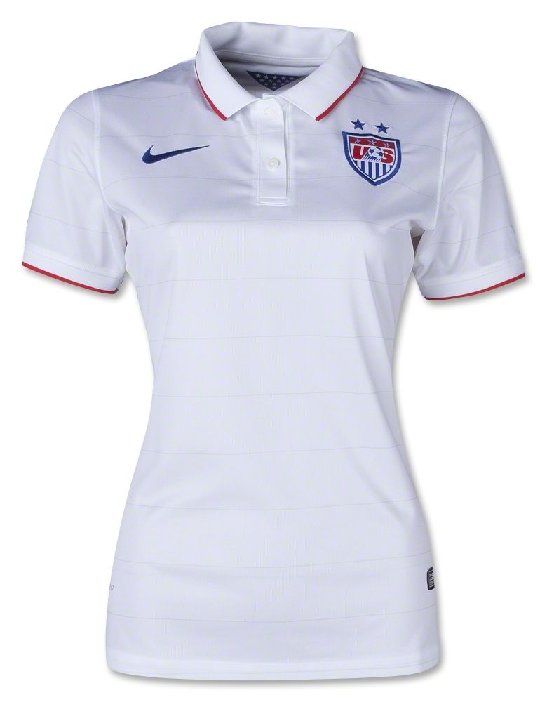 Stand Up And Cheer For The Usa Women S National Team In This Official Jersey Soccer Jersey Usa Soccer Women World Cup Shirts
