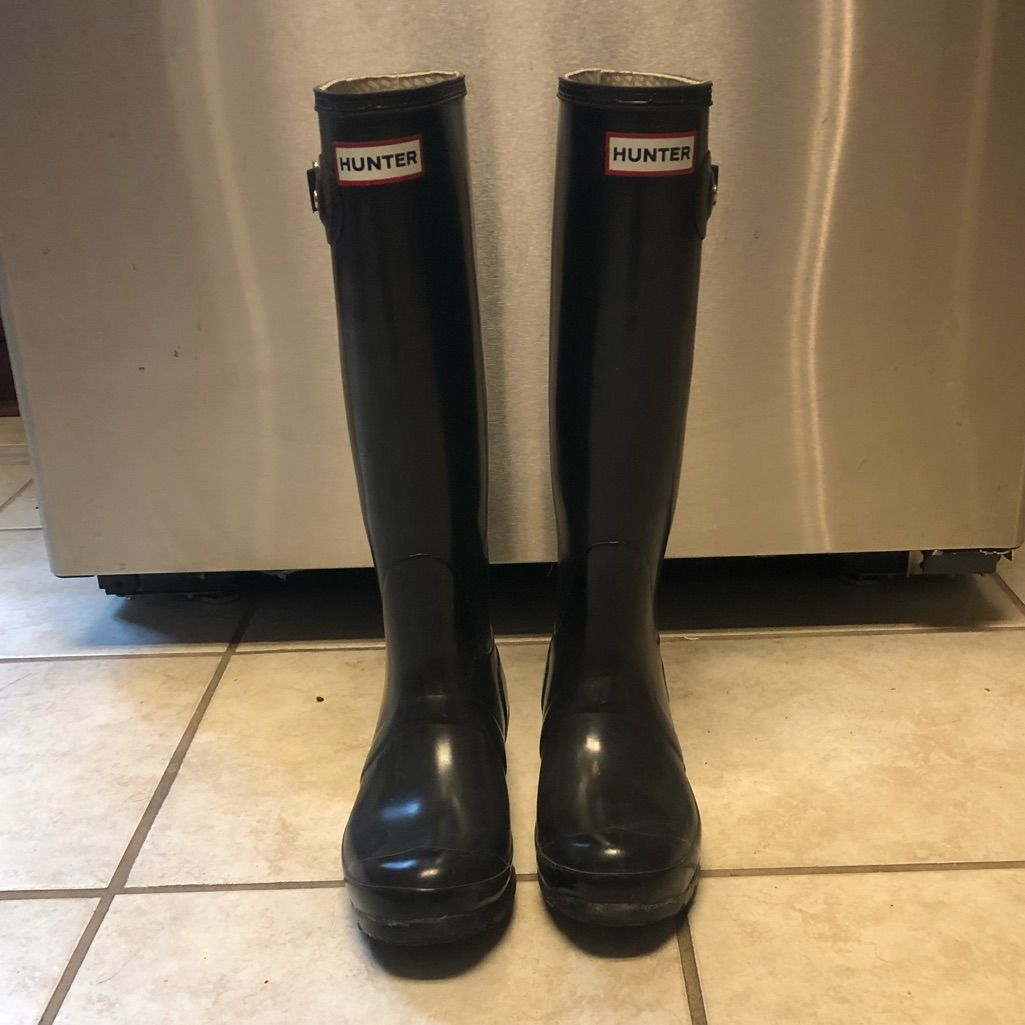 Hunter Shoes Hunter Original Tall Waterproof Rain Boot Color
