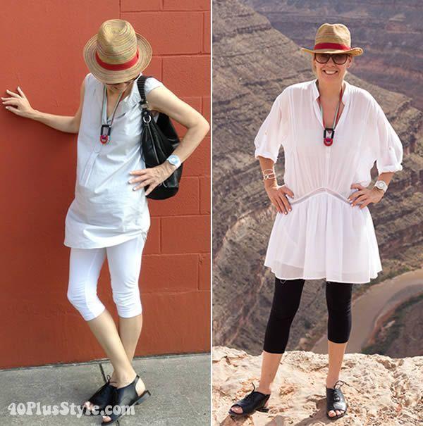 1072fc8e897f How to wear leggings over 40