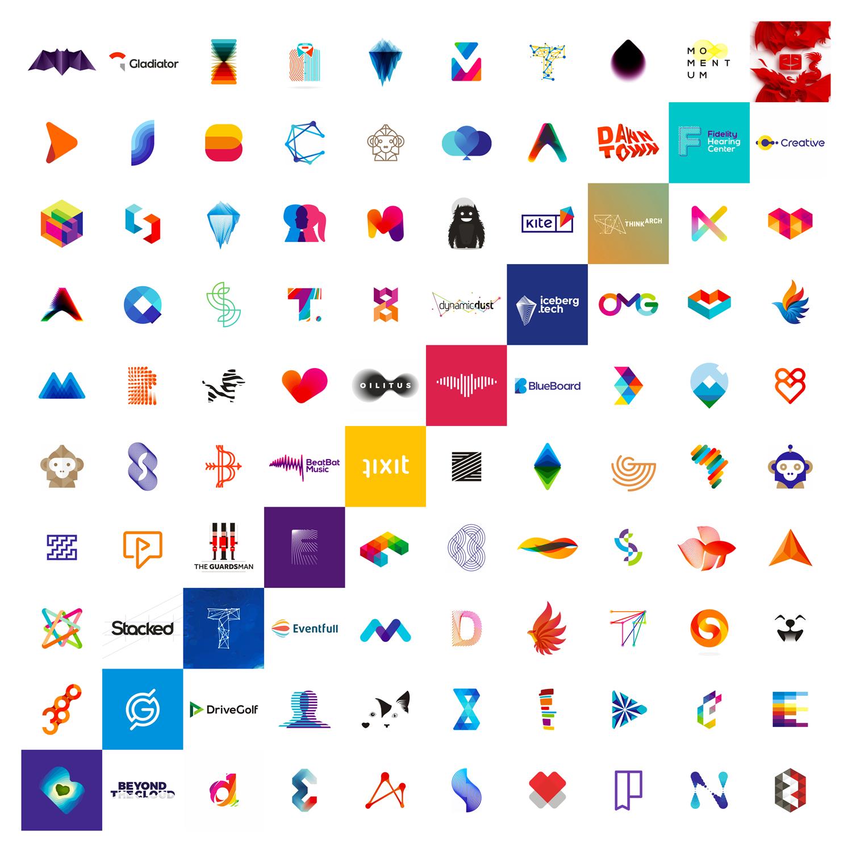 10 Years 100 Logo Design Projects On Behance Logo Design 100 Logo Logo Design Inspiration