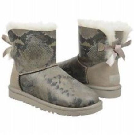 4cb0b5ef2e9 snakeskin bailey bow uggs | uggs | Snake boots, Uggs, Boots