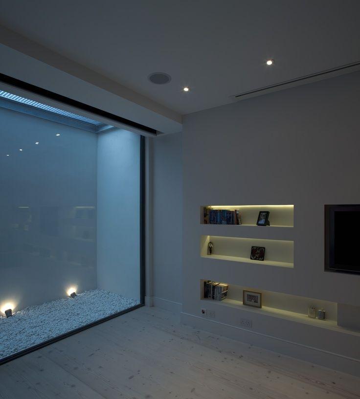 Open Basement Ideas: Light Wells Residential Building