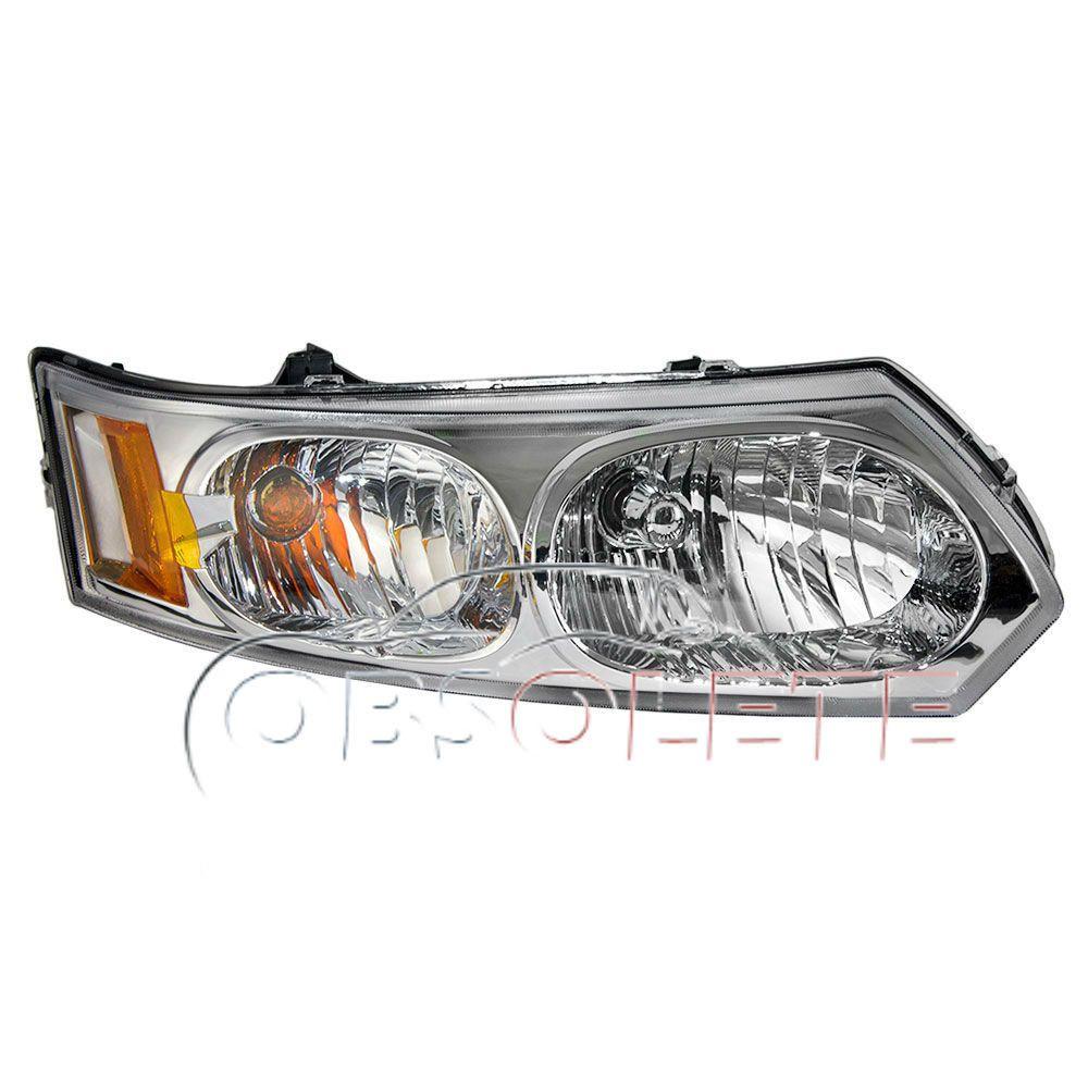 New Headlight Headlamp Housing Assembly 03 07 Saturn Ion Sedan Right Side Rh Headlamp Sedan Headlights