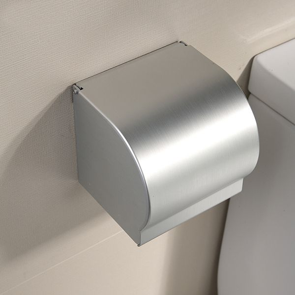 LDR 167 4756CP Tahoe Canister Toilet Paper Holder With Lid Chrome