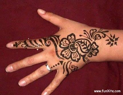 Mehndi Simple Arabic Designs For Hands : Simple arabic mehndi designs for left hand