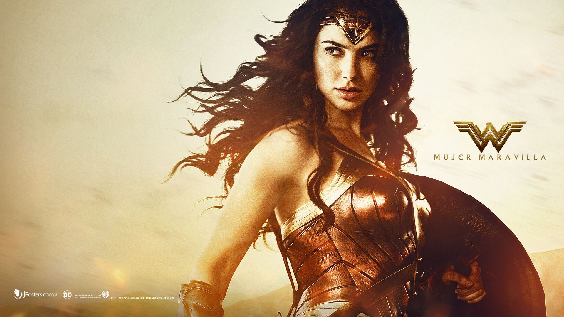 Wonder Woman 7 Movie Wallpapers: Wonder Woman 2017 Diana Prince (Gal Gadot) DC Movie