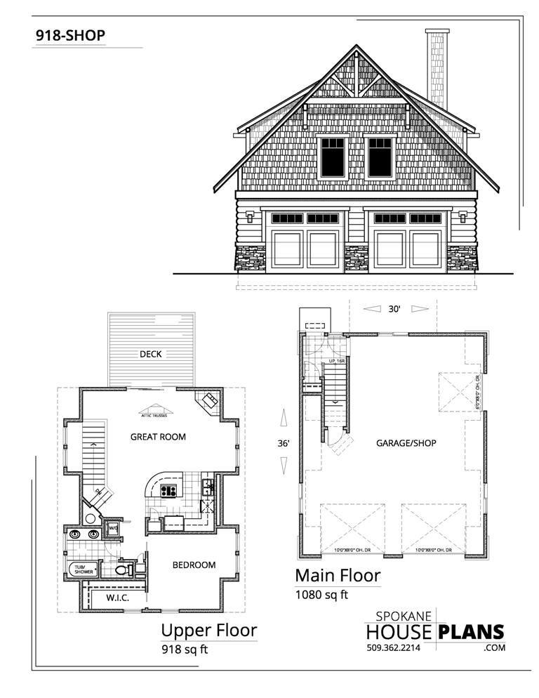 918 Shop Carriage House Plans Garage Apartment Plans Garage Guest House