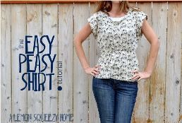 Tutorial: Easy Peasy Shirt | Sewing | CraftGossip.com