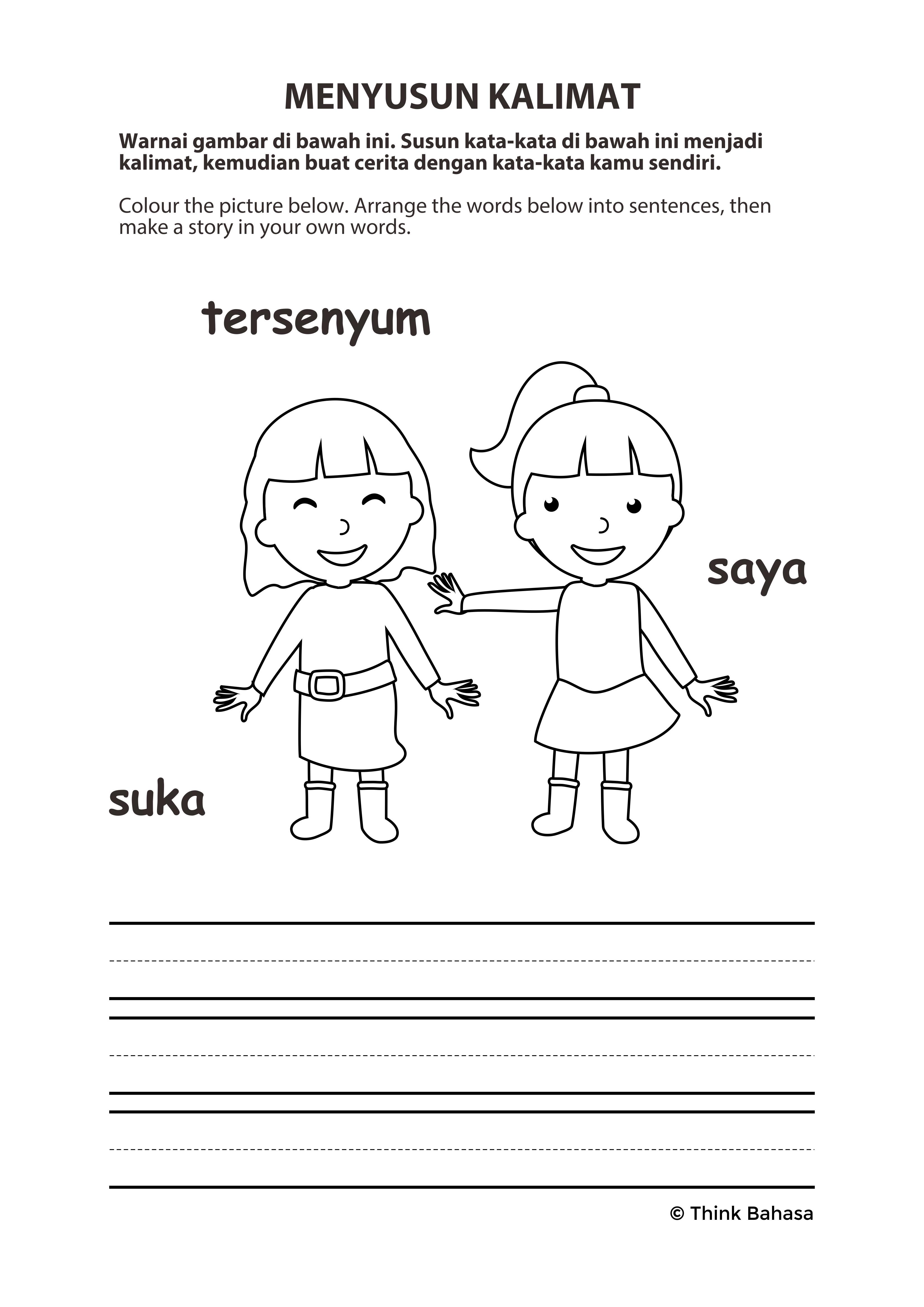 Pin Di Printable Indonesian Handouts