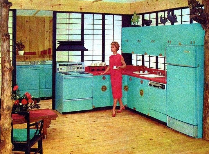 Best Hotpoint 1960 With Images Mid Century Modern Kitchen 400 x 300