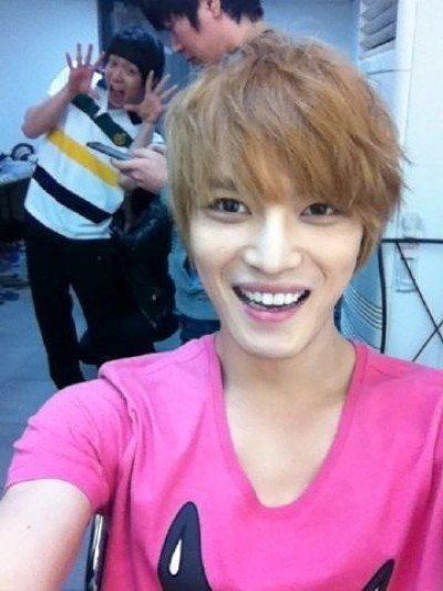Jaejoong (and I love Micky there in the background - too cute!)