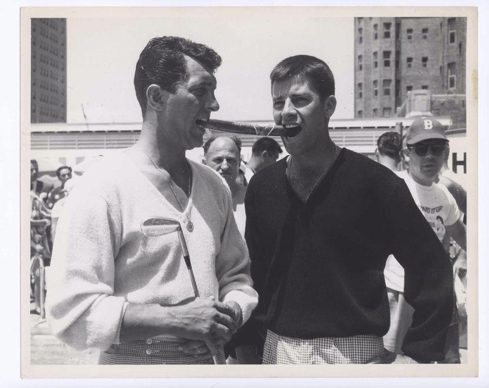 JERRY LEWIS DEAN MARTIN PHOTO 8 X 10 photograph