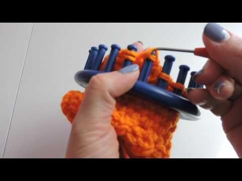 Loom Knitting Blanket Pattern Easy Baby Blanket Round 24 Peg