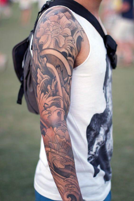Black Guys With Tattoo Sleeves : black, tattoo, sleeves, Ultimate, Sleeve, Tattoos, Tattoos,, Guys,, Tattoo