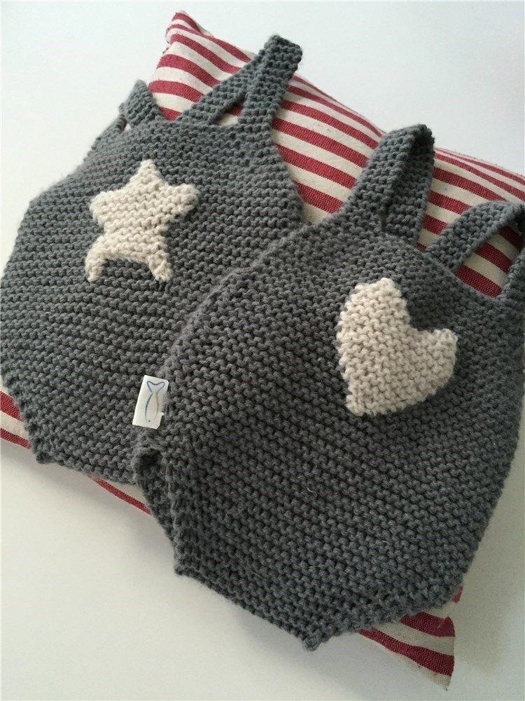 Peto bb tirte cross pto MY MARTINA MINI Petos de lana para los mellizos de Raquel Sánchez Silva