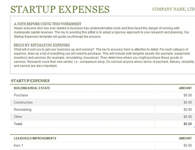 Business Startup Costs Calculator Templates 7 Free Docs Xlsx Pdf Start Up Business Business Budget Template Business Planning