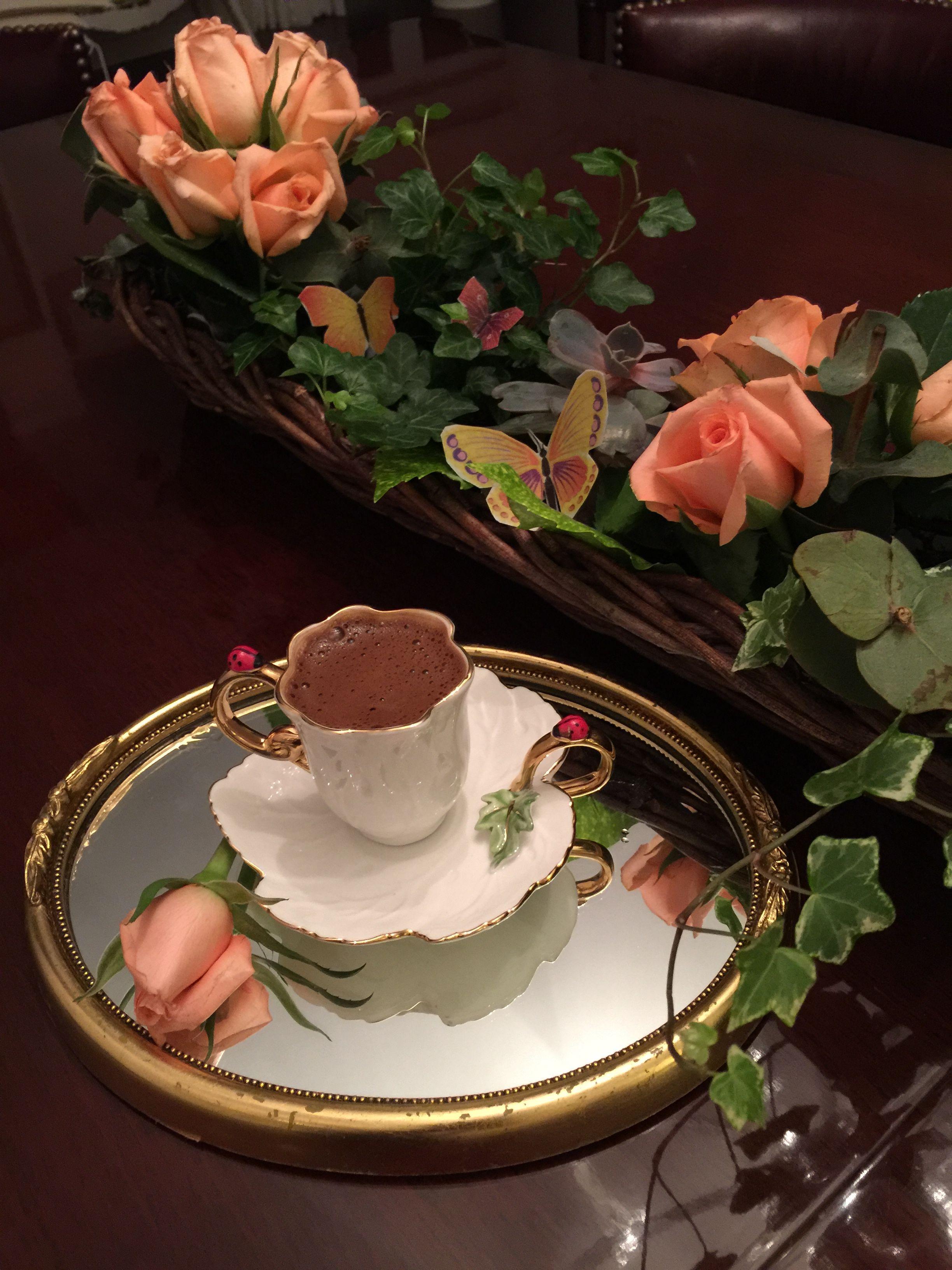 кофе шоколад и цветы картинки анимация повезло, горе