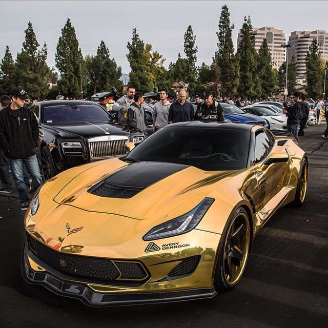 """""""Gold C7 • Follow @MadWhips • • www.Madwhips.com • • Upload your photos & get Featured • • Download the App: ios.madwhips.com •…"""""""