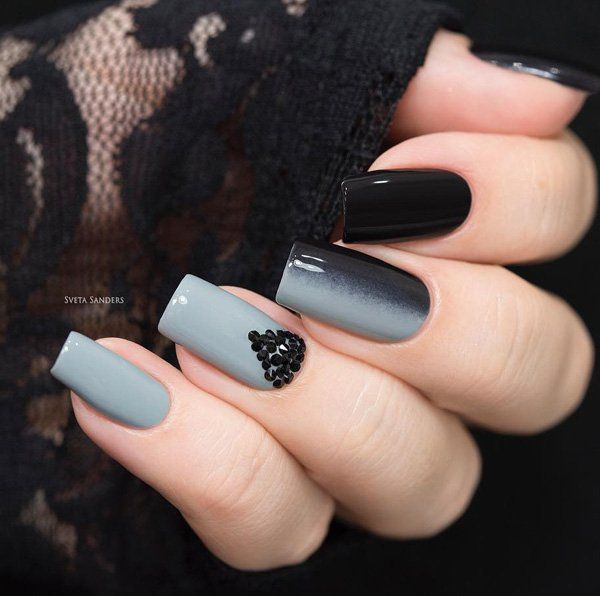 45 chic classy nail designs classy nail designs opposite colors 45 chic classy nail designs prinsesfo Image collections