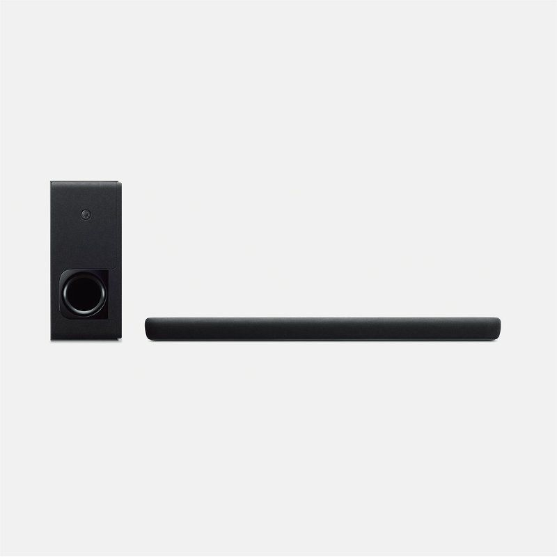Yamaha Soundbar With Wireless Subwoofer And Alexa Built In Surround Speakers Dolby Digital Alexa Voice