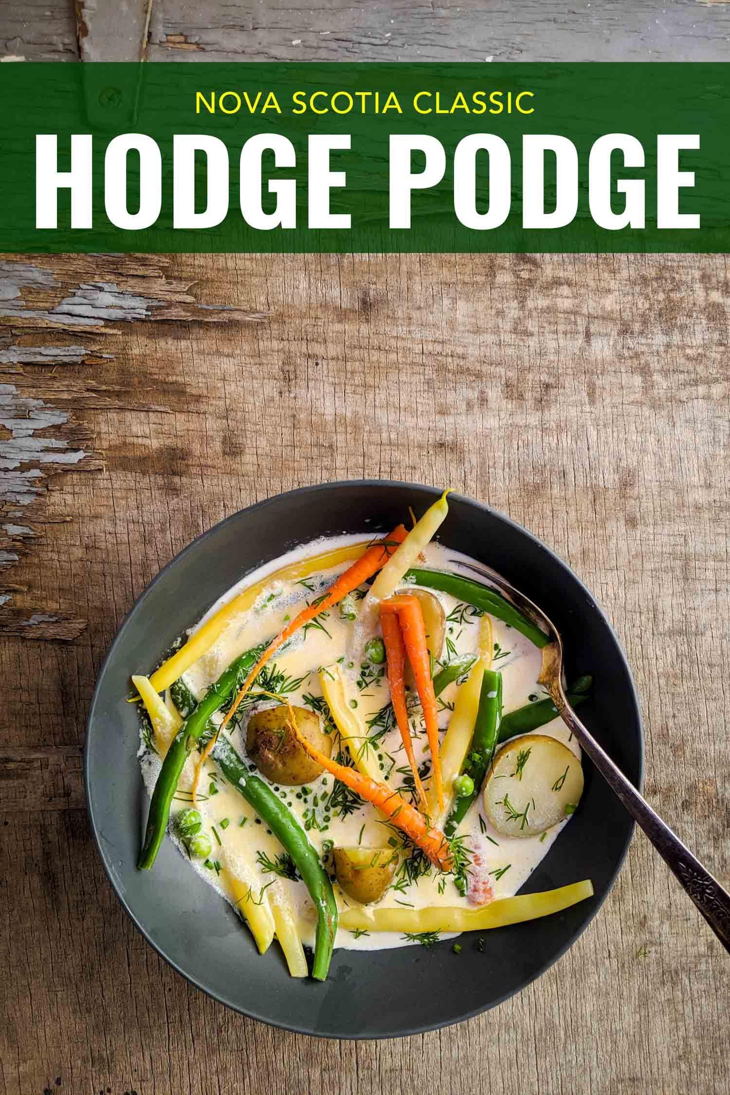 A classically simple Nova Scotia recipe, hodge podge is a