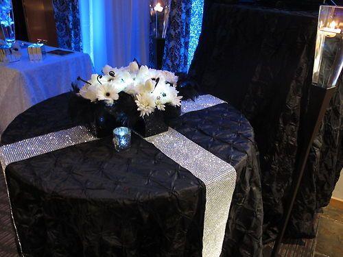 Wedding Decorations Supplies New Diamond Wraps Winter Weddings