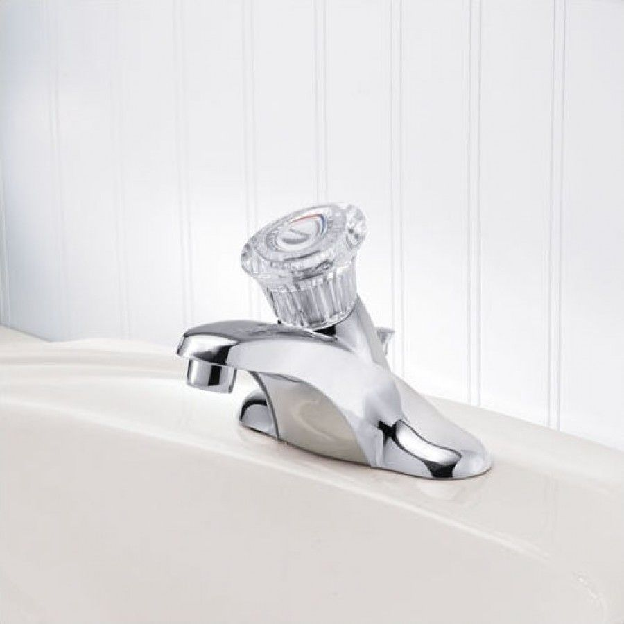 Moen Chateau Single Handle Bathroom Faucet with Drain Assembly ...