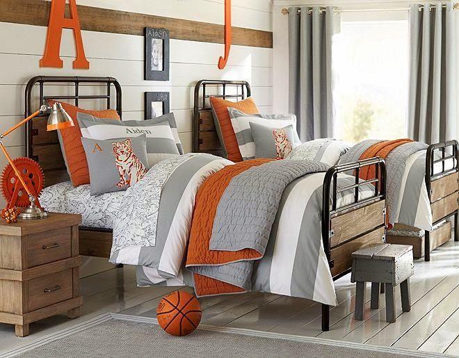 88 id es cool de d co chambre enfant au charme r tro d co r tro et design for Decoration chambre camaieu orange