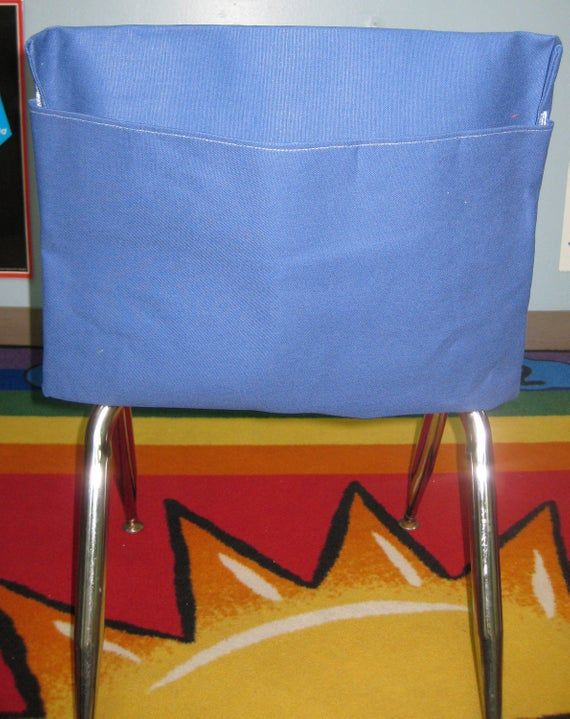 25 Classroom Chair Pockets Seat Sacks Desk Organizer Chair ...