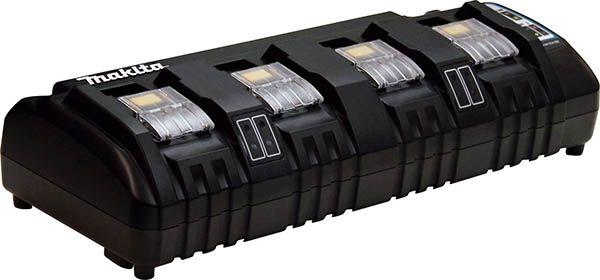 Makita USA - Accessory Details - 18V Lithium-Ion Rapid Optimum 4-Port Charger