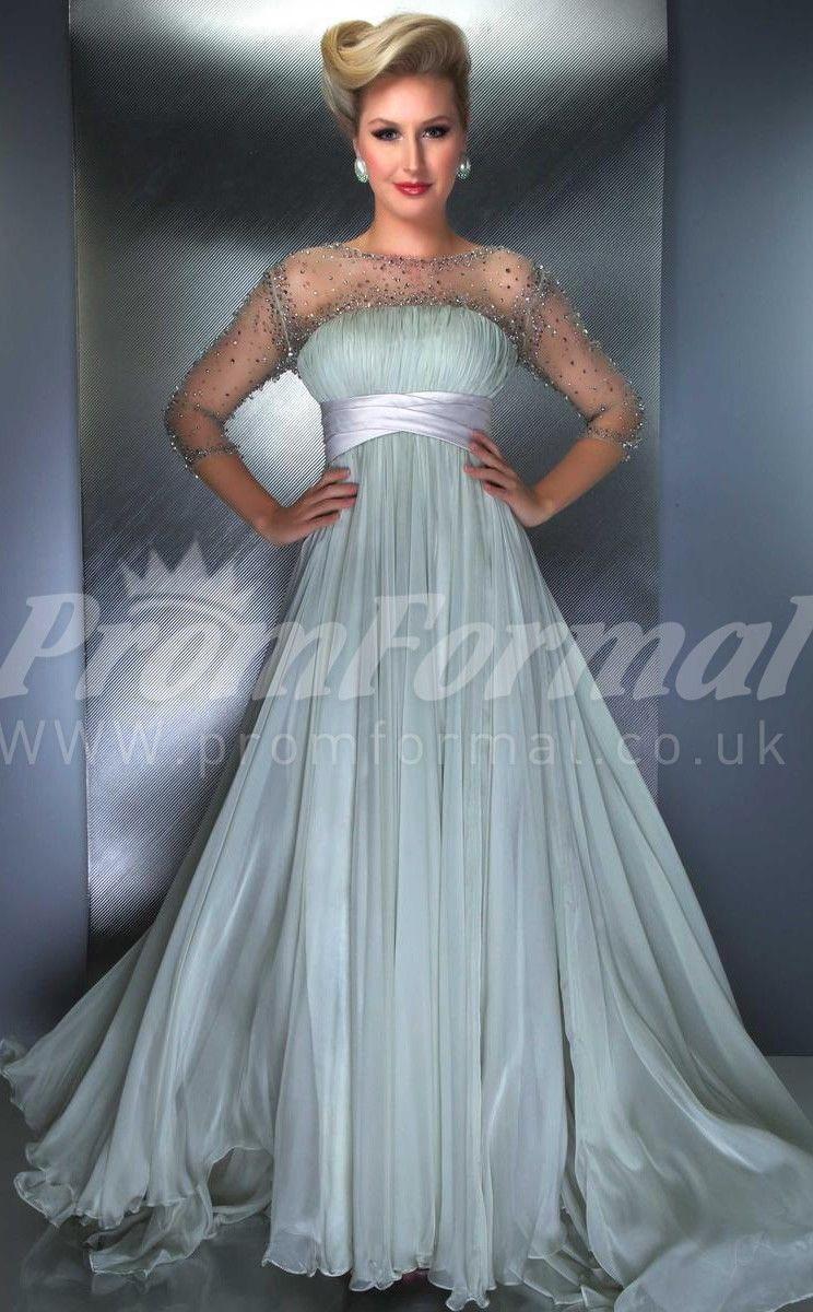 Light Sage long prom dresses | Dresses | Pinterest | Prom dresses ...