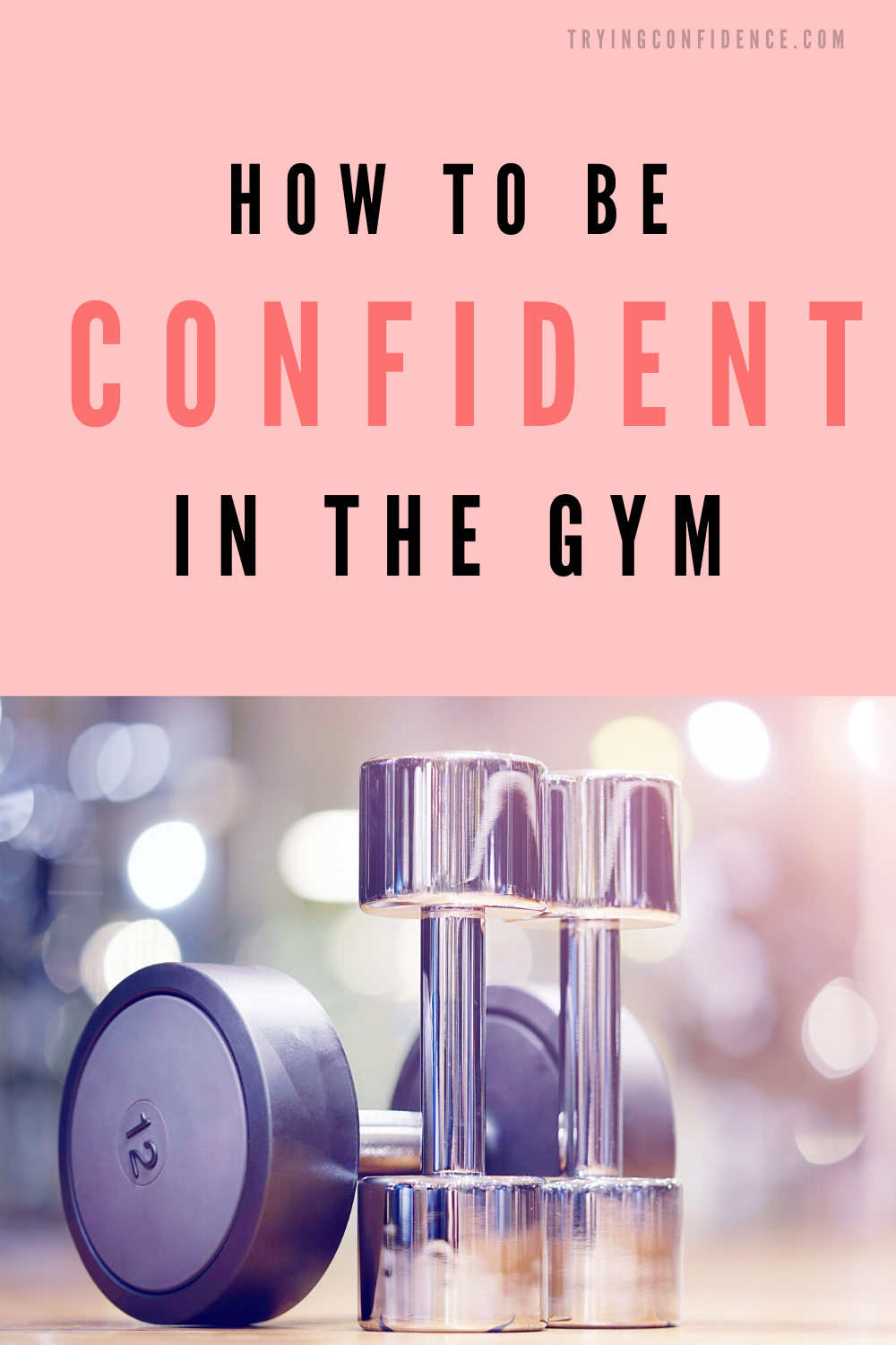 How to be more confident in the gym so you can crush you workout! #fitness #fitnessmotivation