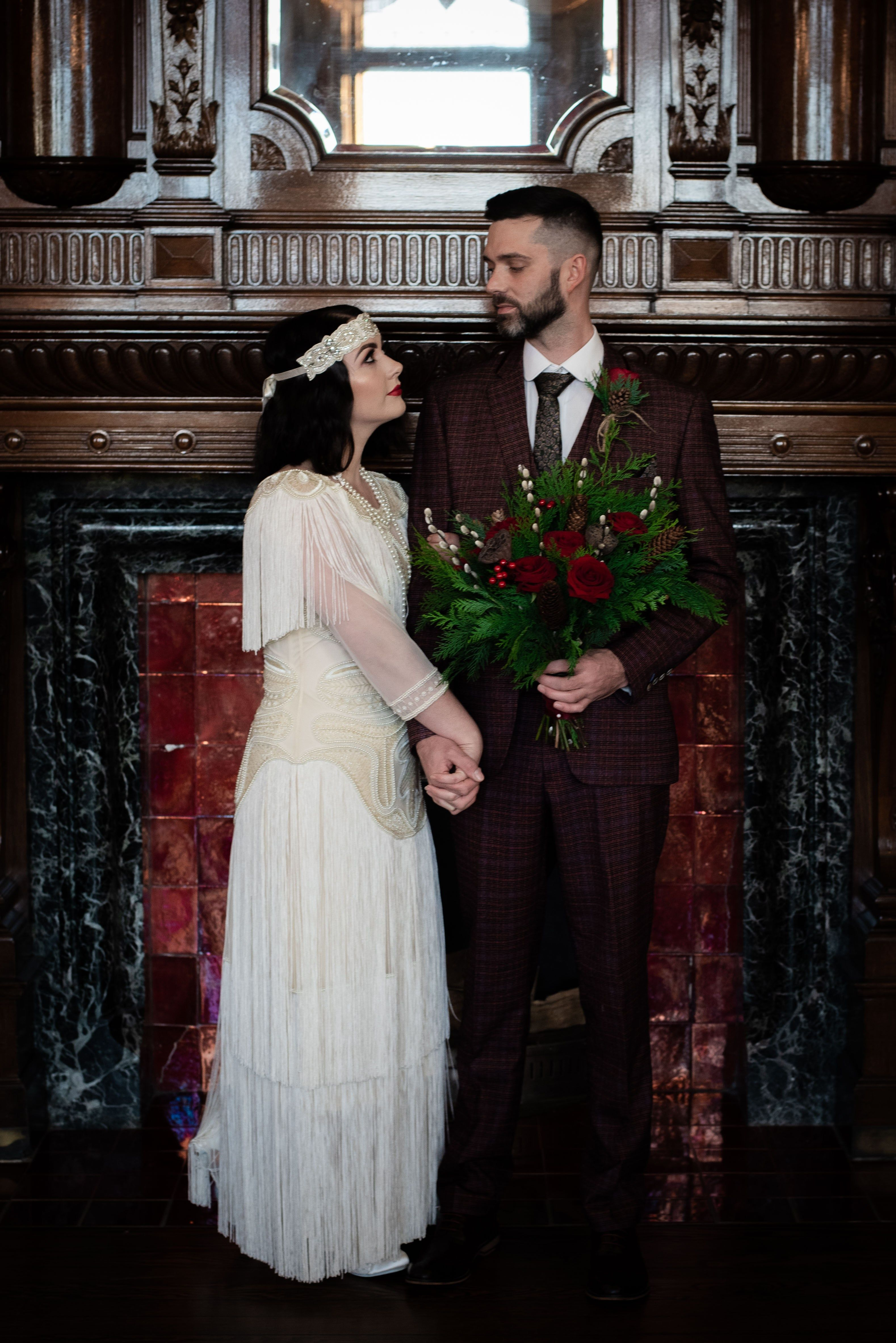 99fc2697fbe 1920 s Christmas Wedding - Peaky Blinders meets Gatsby Glamour 1920 s wedding  inspiration by Magpie Wedding  1920 swedding  weddinginspo  vintagewedding  ...