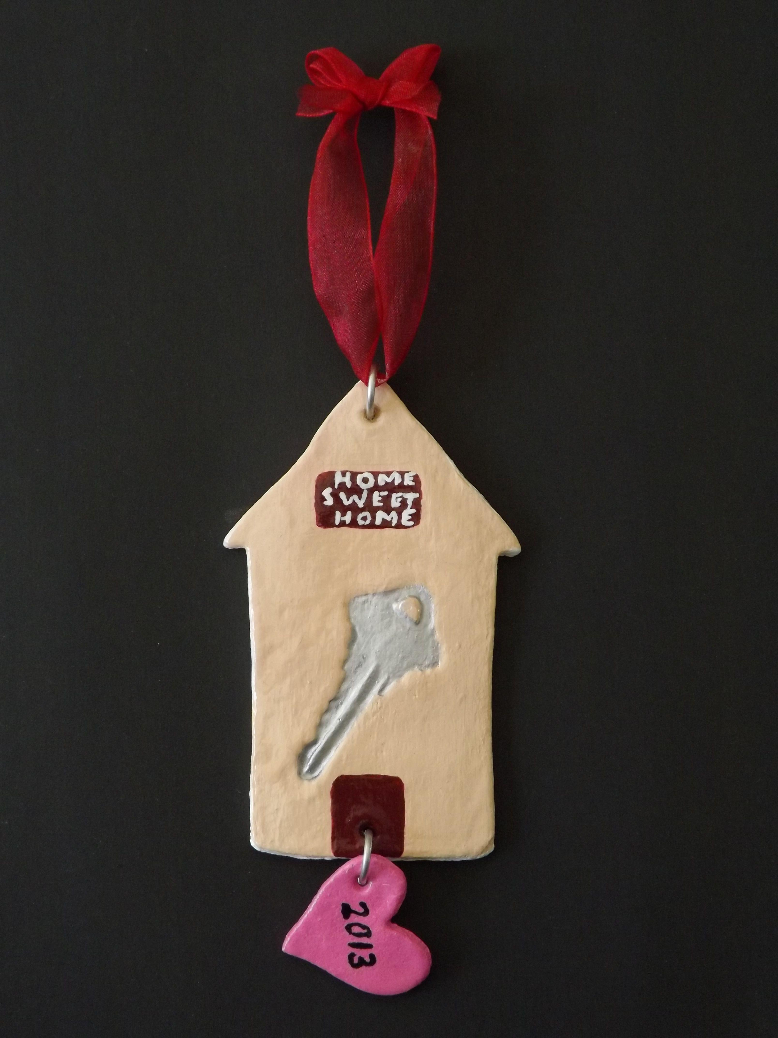 Housewarming Salt Dough Ornament