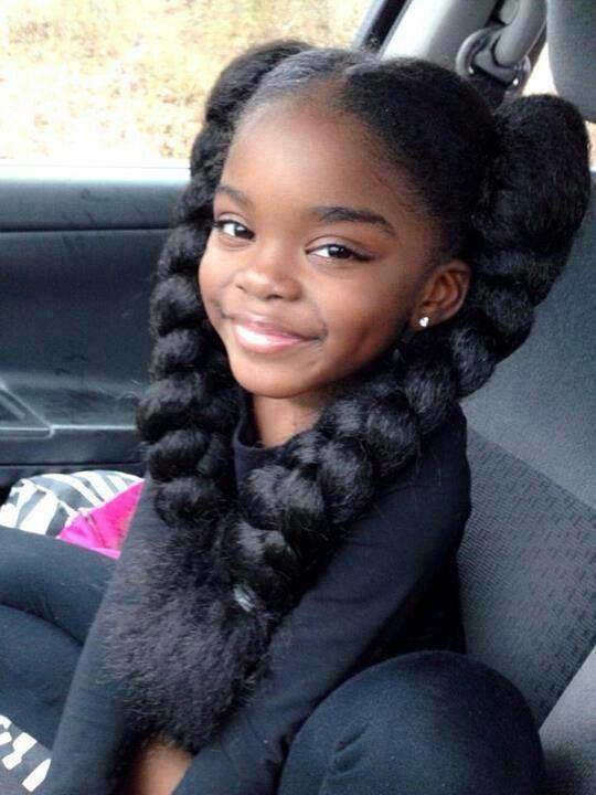 A Simple Natural Hair Regimen For Young Children Little Girl