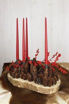 Cones Cones Cones Christmas Centerpieces Christmas Decorations Christmas Deco