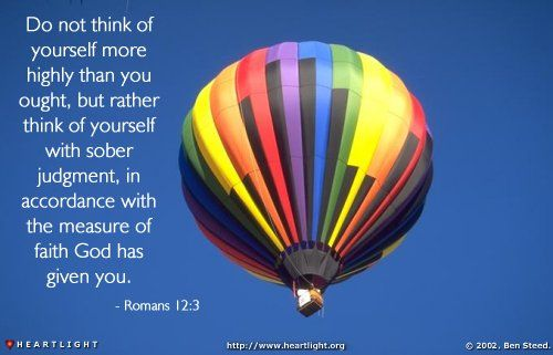 Image result for Romans 12:3-5