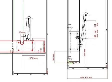 Resultado de imagem para diy murphy bed gas piston | Bedroom in