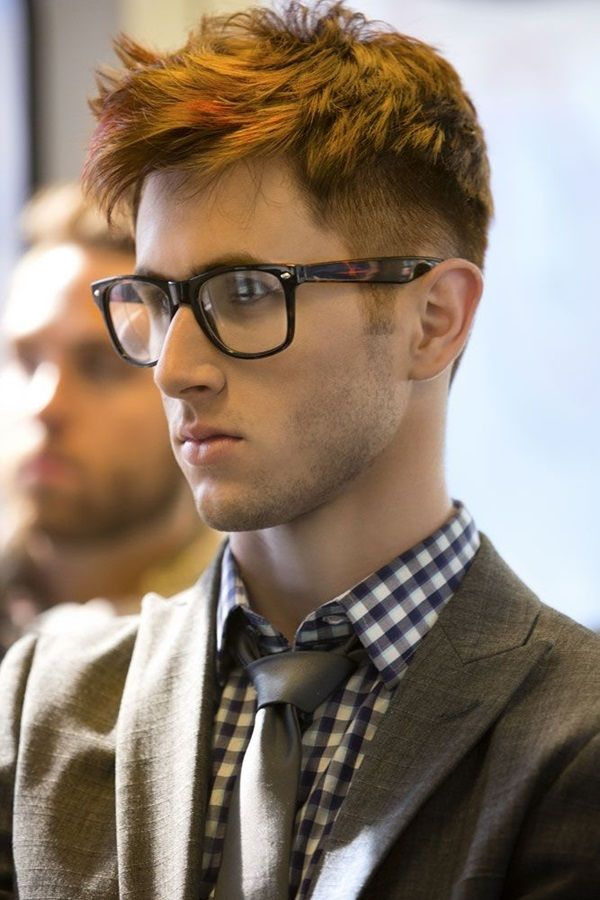 Cool Mens Looks Wearing Glasses Glass - Mens hairstyle with glasses