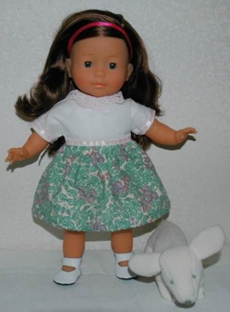 Einfaches Kleid | Doll clothes etc. | Pinterest