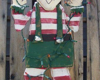 Winter Greetings Snowman Wood Craft Pattern by KaylasKornerDesigns