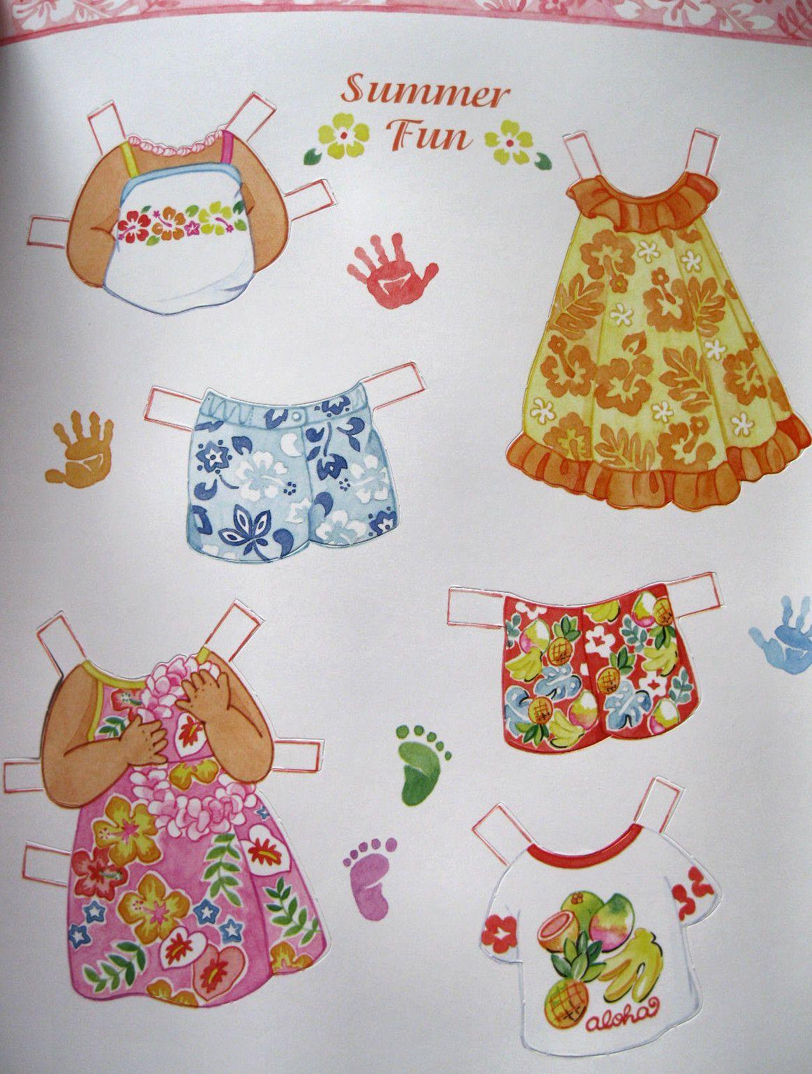 Keiki Friends Paper dolls